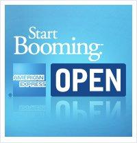 American Express facebook, American Express Open