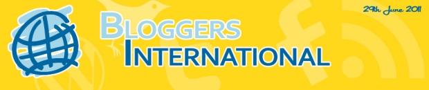 bloggers international, blogging advice