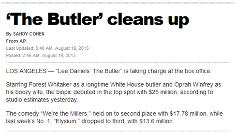 The butler article