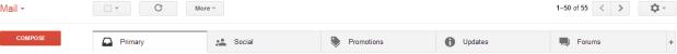 New Gmail Layout